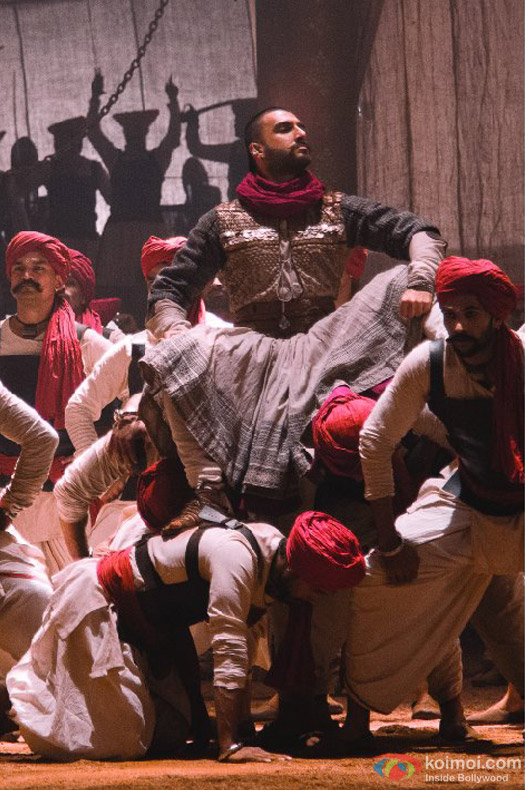 Ranveer Singh in Bajirao Mastani Movie Stills Pic 1