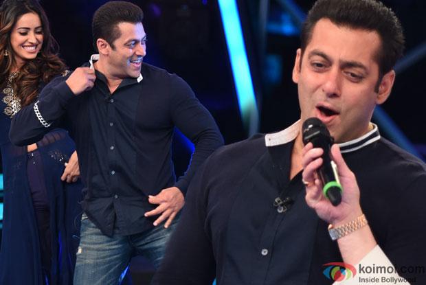 Bajrangi Bhaijaan Event : Salman Khan, Sonakshi Sinha Dance & Sing On Indian Idol Junior's Episode