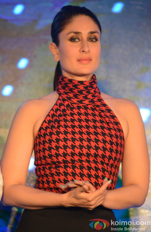 Kareena Kapoor Khan during the promotion of movie Bajrangi Bhaijaan