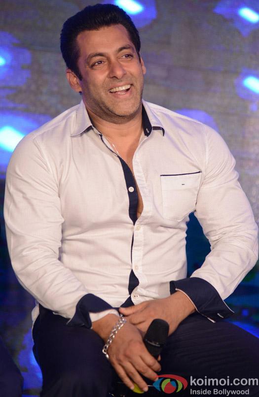 Salman Khan during the promotion of movie Bajrangi Bhaijaan