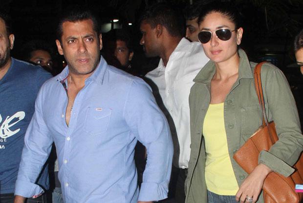Salman Khan and Kareena Kapoor Khan Snapped At Airport