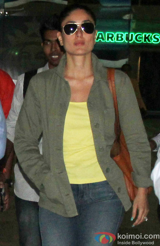 Kareena Kapoor Khan Snapped At Airport
