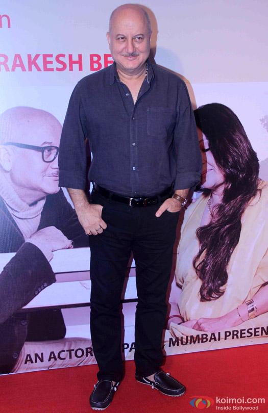 Anupam Kher's Play 'Mera Woh Matlab Nahi Tha...'