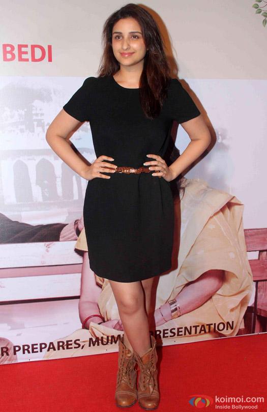 Parineeti Chopra At Anupam Kher's Play 'Mera Woh Matlab Nahi Tha...'