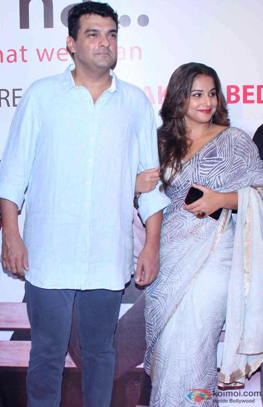 Siddharth Roy Kapur and Vidya Balan At Anupam Kher's Play 'Mera Woh Matlab Nahi Tha...'