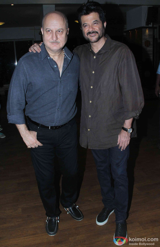 Anil Kapoor At Anupam Kher's Play 'Mera Woh Matlab Nahi Tha...'