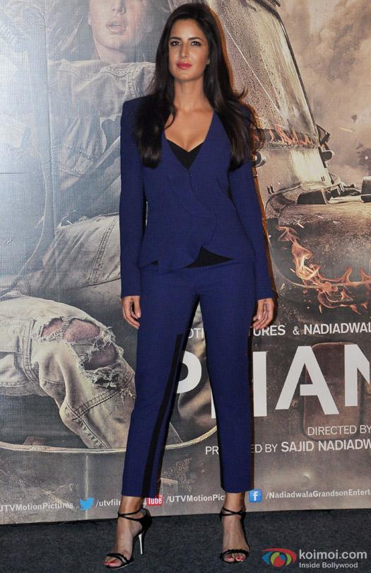 Bold In Blue : Katrina Kaif In A Prabal Gurung Suit