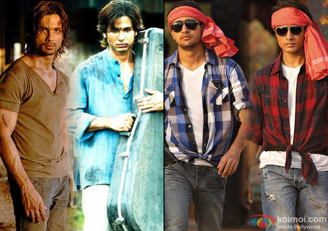 stills from movie 'Kaminey' and 'Mere Brother Ki Dulhan'
