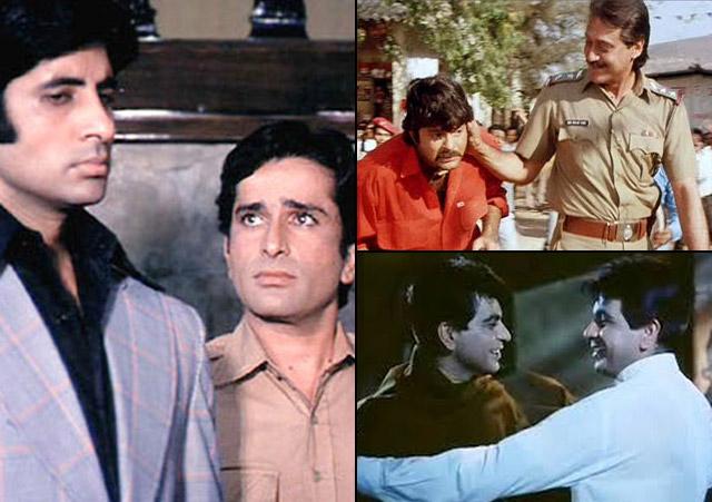 stills from movie 'Deewar', 'Ram Lakhan' and 'Ram Aur Shyaam'