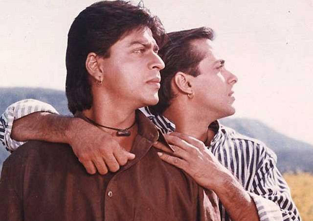 still from movie 'Karan Arjun'