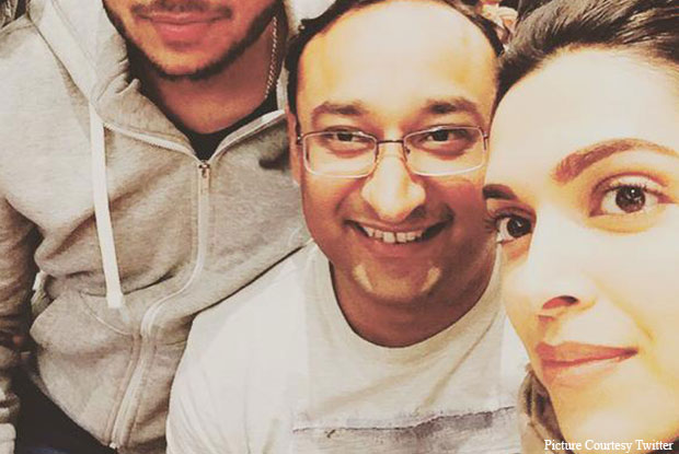 Deepika Padukone Clicks A Selfie In London