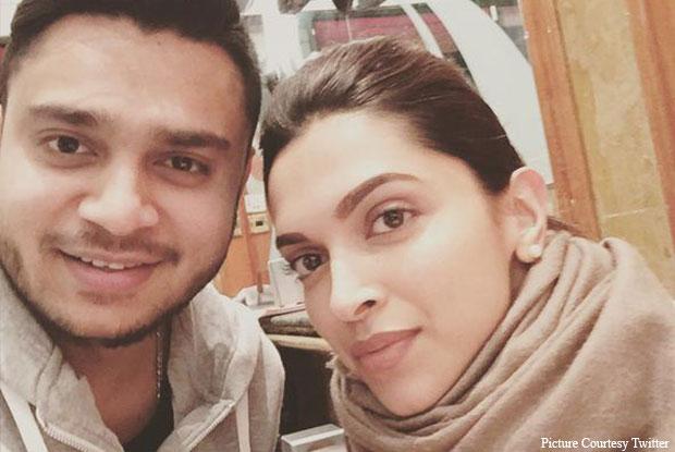 Deepika Padukone Clicks A Selfie