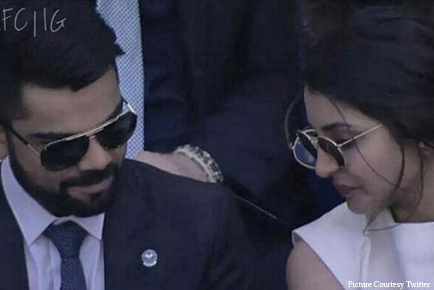 Virat Kohli & Anushka Sharma Snapped At Wimbledon