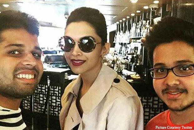 Deepika Padukone Snapped In London