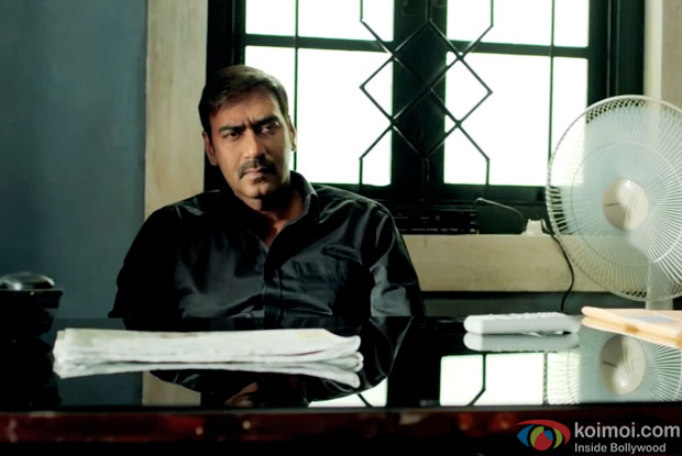 Ajay Devgn in a still from movie 'Drishyam'