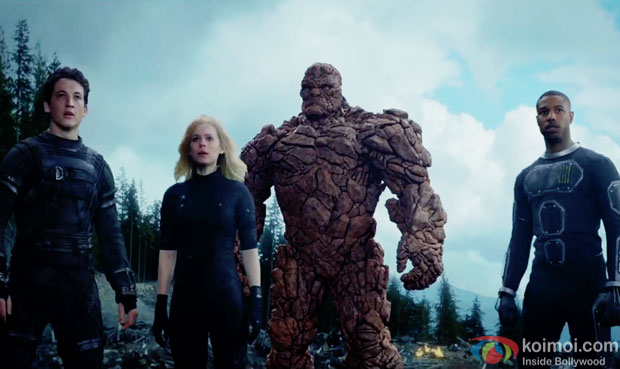 A still from movie 'Fantastic Four'