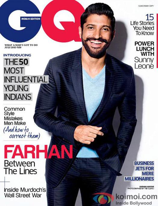 Farhan Akhtar Graces The Cover GQ