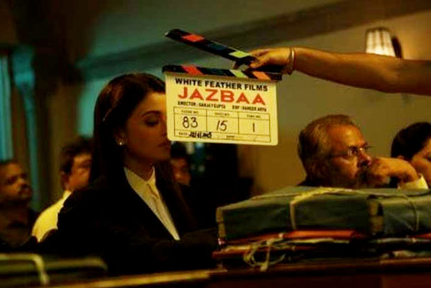 First Look : Aishwarya Rai Bachchan look as a Lawyer in Jazbaa