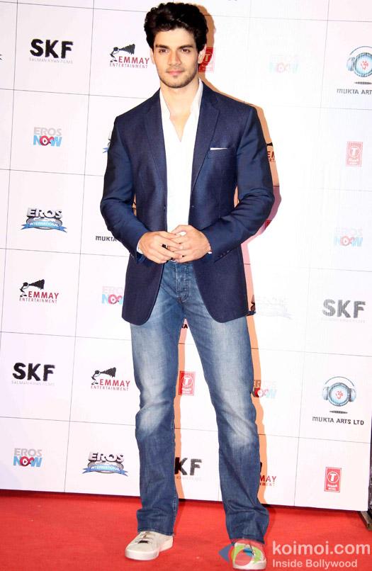 Sooraj Pancholi during the first look launch of movie 'Hero'