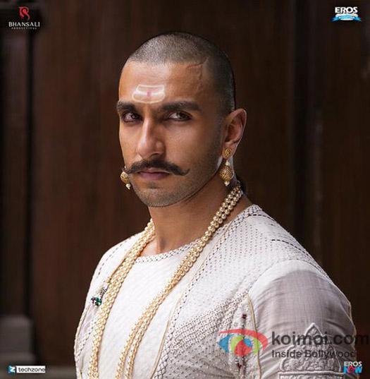 First Look : Ranveer Singh As The Peshwa Bajirao In Bajirao Mastani