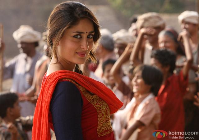 Kareena Kapoor in a still from movie 'Gori Tere Pyaar Mein'