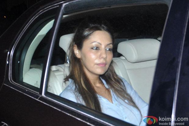 Gauri Khan Snapped At Bahubali Special Screening