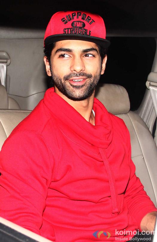 Taaha Shah Snapped At Bahubali Special Screening
