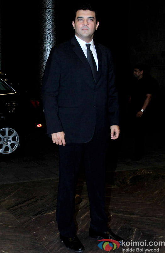 Sidharth Roy Kapur attend Shahid Kapoor and Mira Rajput's reception