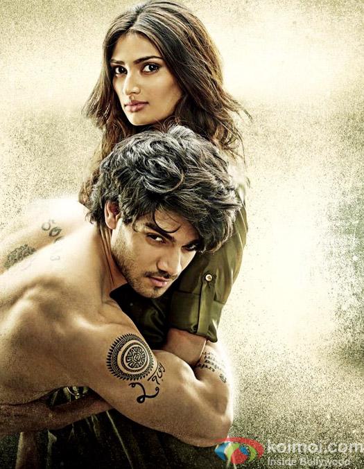 Athiya Shetty and Sooraj Pancholi in a still from movie 'Hero'