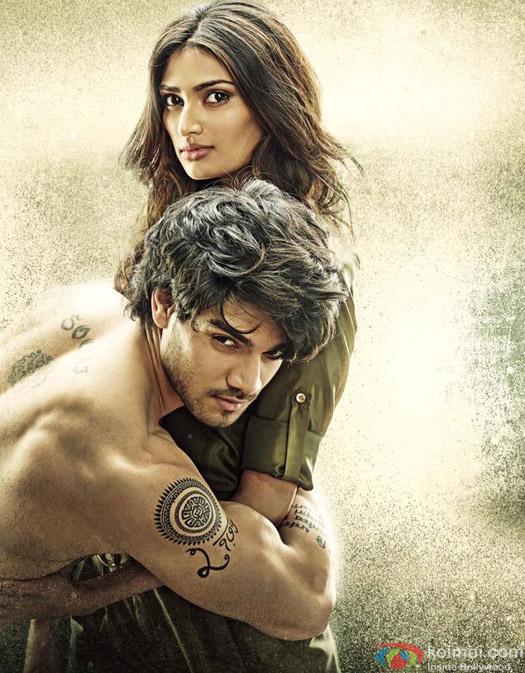 Sooraj Pancholi and Athiya Shetty in a Hero Movie Stills Pic 1