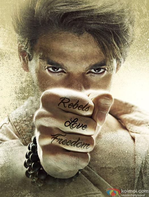 Sooraj Pancholi in a Hero Movie Stills Pic 2