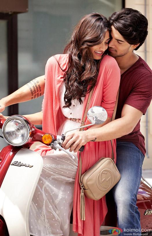 Athiya Shetty and Sooraj Pancholi in a Hero Movie Stills Pic 2
