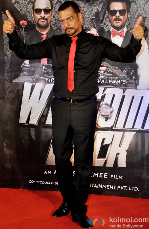 Nana Patekar during the trailer launch of 'Welcome Back'