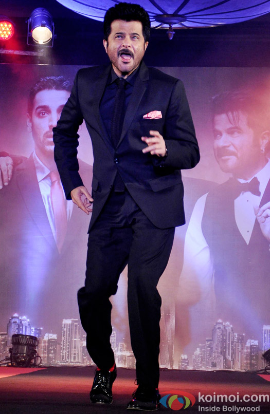 Anil Kapoor during the trailer launch of 'Welcome Back'