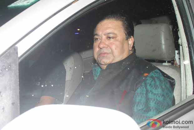 Manoj Pahwa arrives at Shahid's Wedding Reception
