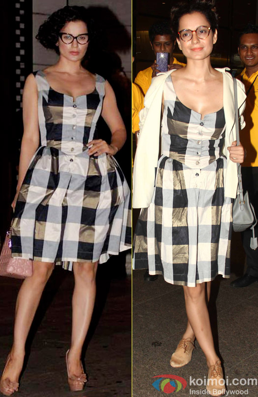 Kangana Ranaut Wears Her Favorite Vivienne Westwood Dress Again!