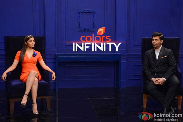 Karan Johar & Alia Bhatt joins Colors Infinity as Co-Curators of the Channel