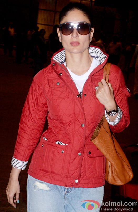 Kareena Kapoor Khan Spotted At International Airport