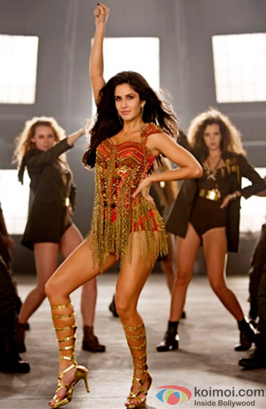Katrina Kaif in a still from 'Dhoom 3'