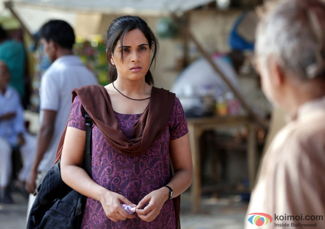 Richa Chadda in a still from movie 'Masaan'