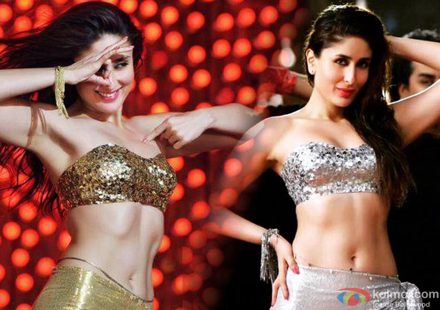 Kareena Kapoor in a 'Mera Naam Mary' song still from movie 'Brothers'