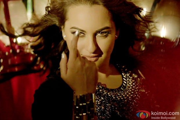 Sonakshi Sinha in a still from movie 'All Is Well'