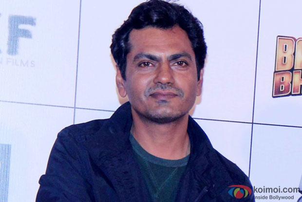 Nawazuddin Siddiqui at an event