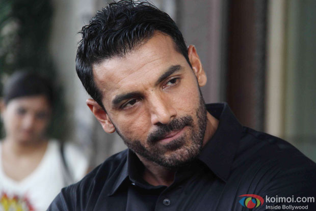 John Abraham during a song shoot for movie 'Welcome Back'