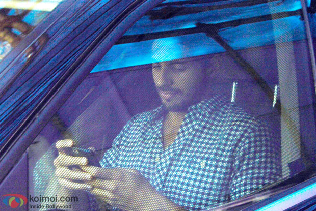 Paparazzi Pictures- Sidharth Malhotra Spotted