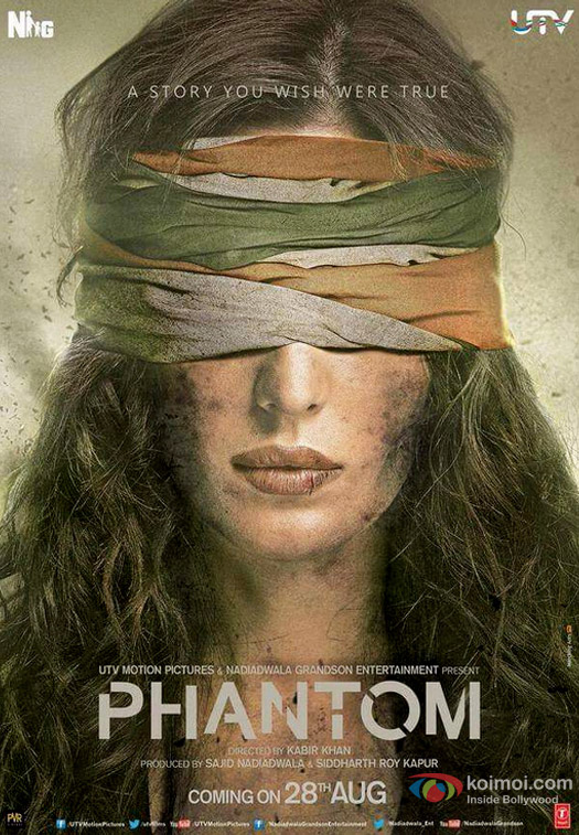 Katrina Kaif in a Phantom Movie Poster 2