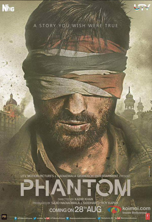 Saif Ali Khan in a Phantom Movie Poster 3