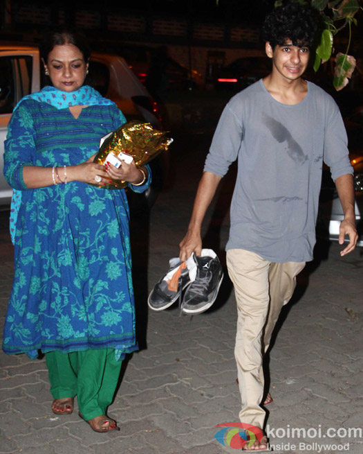 Ishaan Khattar snapped during returned to Home In Mumbai