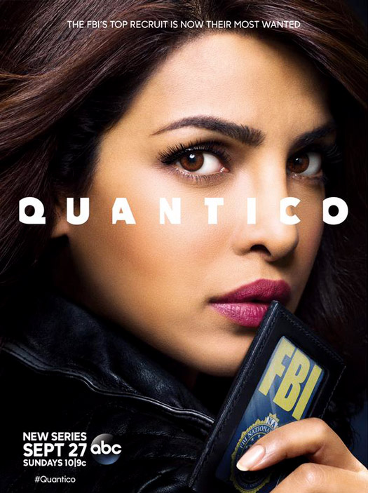 Priyanka Chopra in a still from 'Quantico' poster