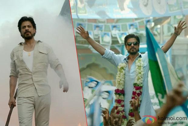Shah Rukh Khan in a still from movie 'Raees'